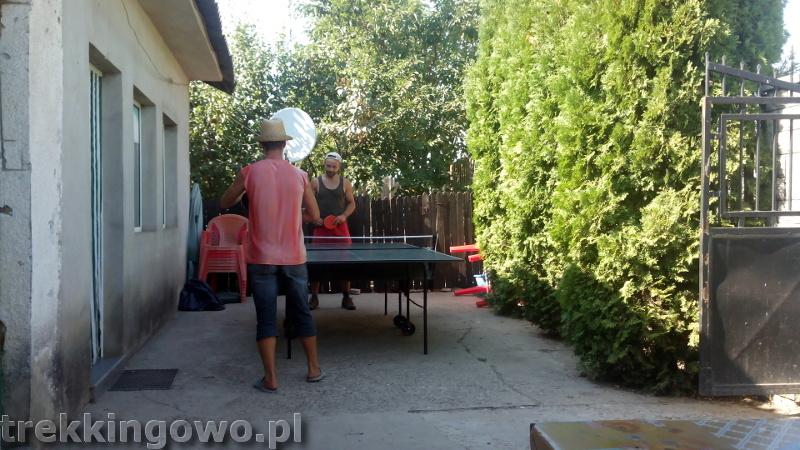 trekkingowo Wyprawa rowerowa Mołdawia - Dzień 8 Rumunia ping-pong