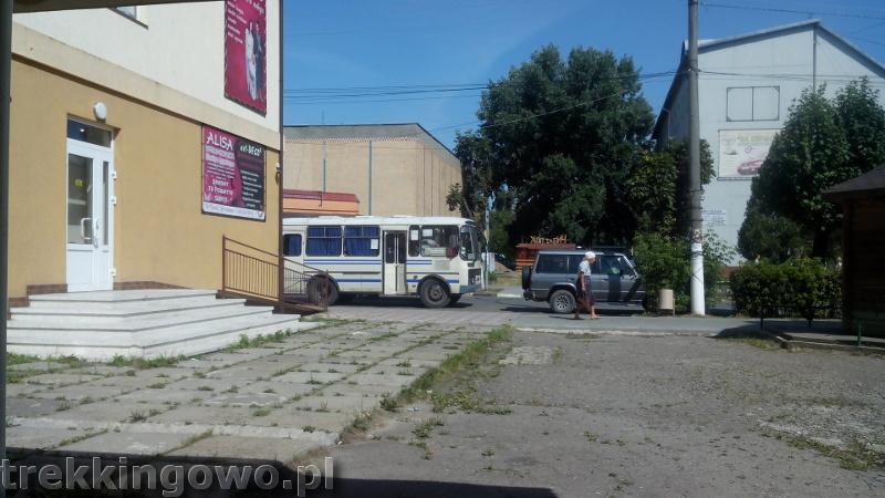 Mołdawska gościnność - Wyprawa rowerowa Mołdawia 2015 dz. 2 marszrutka retro trekkingowo