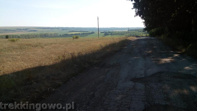 Mołdawia - Dzień 2 dziurawe drogi trekkingowo