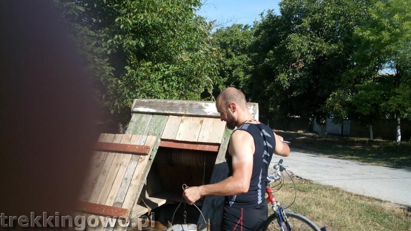 Mołdawia - Dzień 3 studnia trekkingowo
