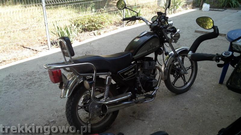 Mołdawia - Dzień 3 motocykl trekkingowo