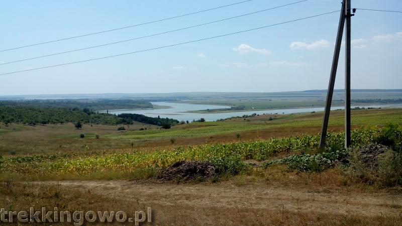 Mołdawia - Dzień 3 rzeka Prut trekkingowo