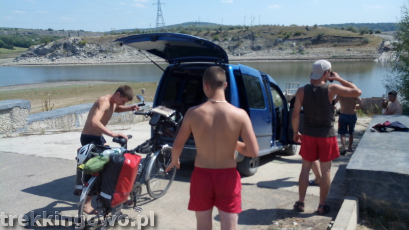 Mołdawia - Dzień 3 rowery do auta trekkingowo