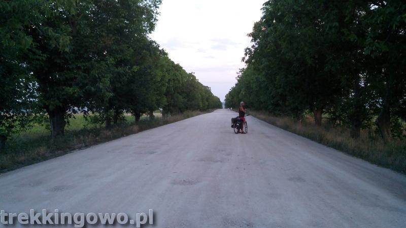 Mołdawia - Dzień 3 droga na przełaj trekkingowo