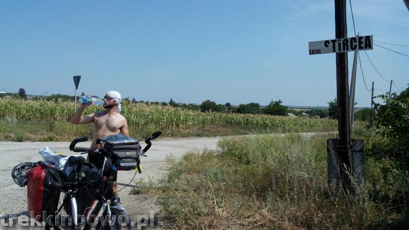 Polska wieś Strycza - Wyprawa rowerowa Mołdawia 2015, dz.4 strycza trekkingowo