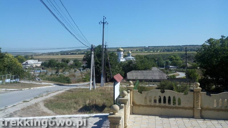 Mołdawia - Dzień 6 Furceni monastyr trekkingowo