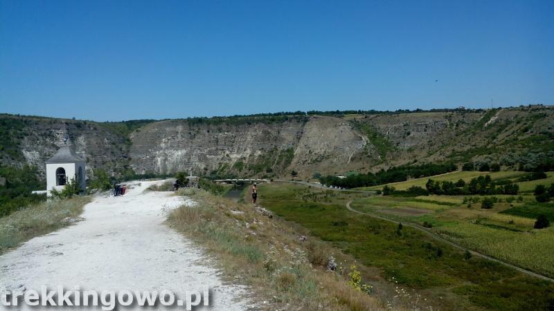 Mołdawia - Dzień 6 wzgórze Orheiul Vechi trekkingowo