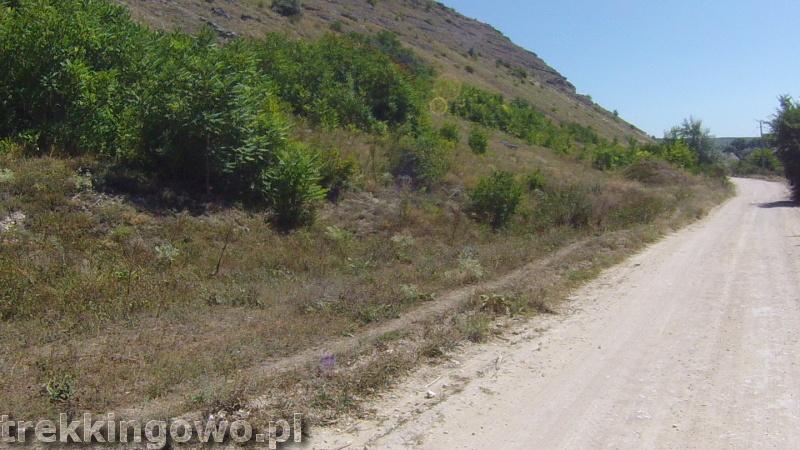 Mołdawia - Dzień 6 droga upał trekkingowo