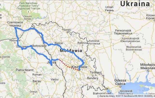 Mołdawia - koniec wyprawy