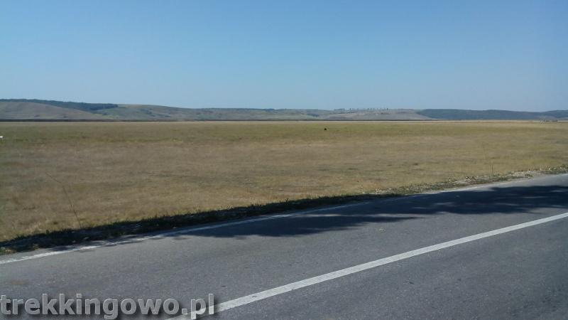 Mołdawia - Dzień 8 Rumunia pustka drogi