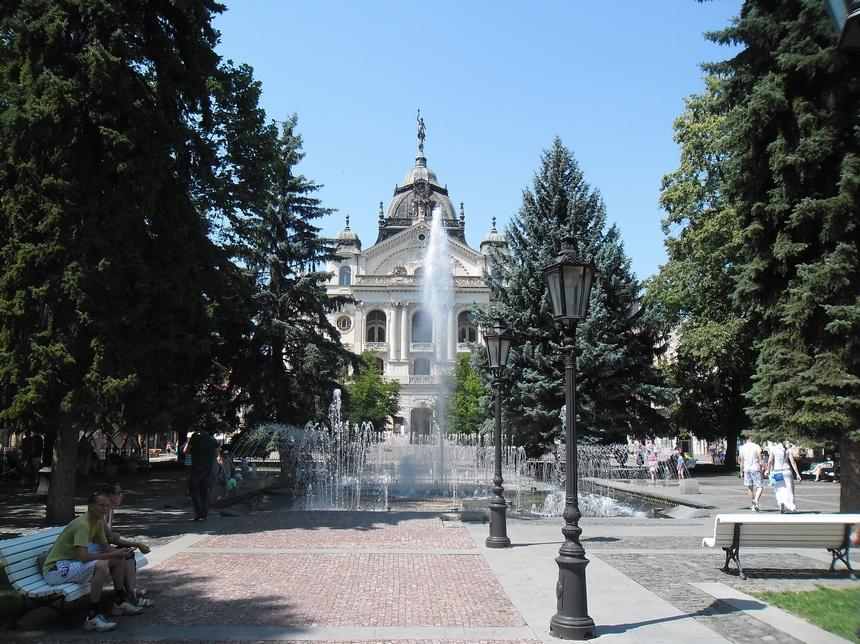 slowacja koszyce fontanna