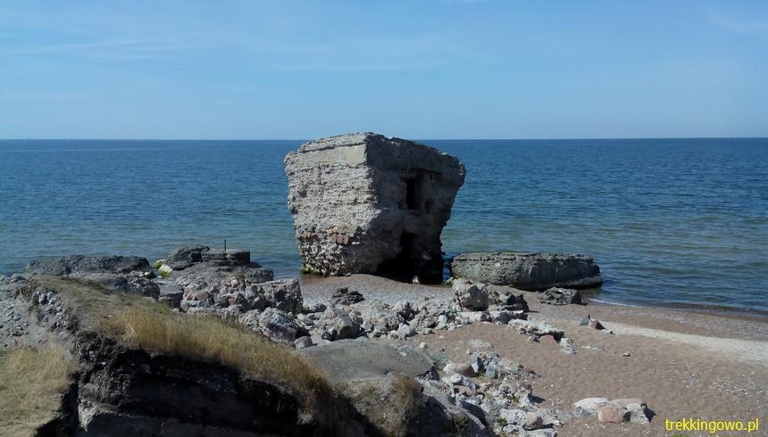 trekkingowo Wyprawa Rowerowa Inflanty 2015 - Lipawa i Ryga dz. 3 ruiny1