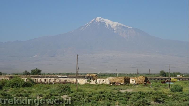 Ararat - u podnóża świętej góry Ormian ararat 2 trekkingowo