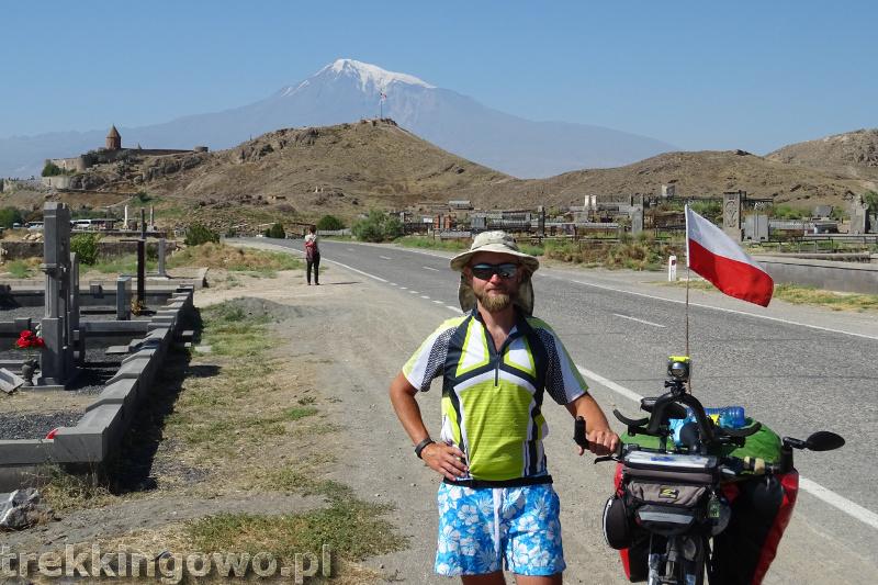 Ararat - u podnóża świętej góry Ormian Khor Virap 2 trekkingowo