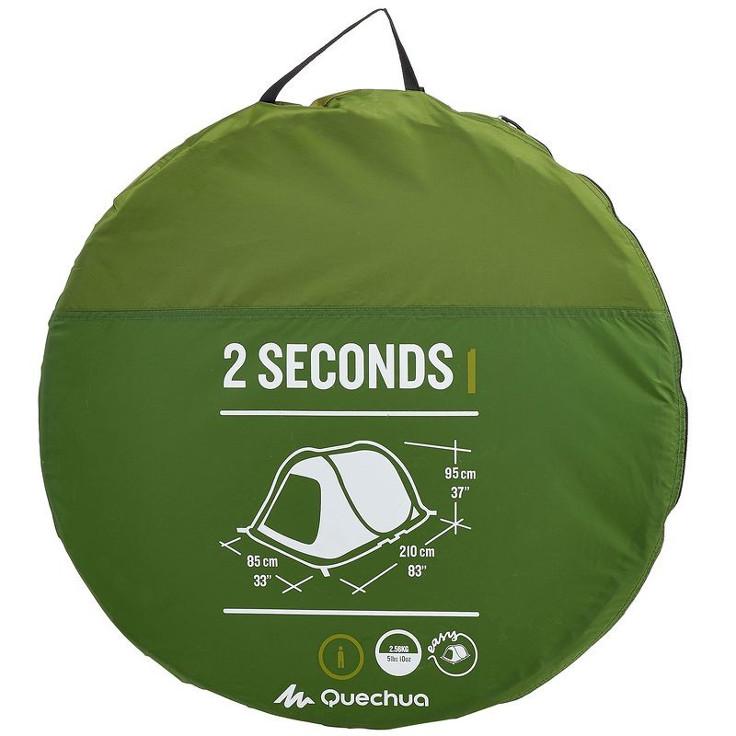 Namiot Quechua 2 Seconds Easy 1 recenzja, wady i zalety