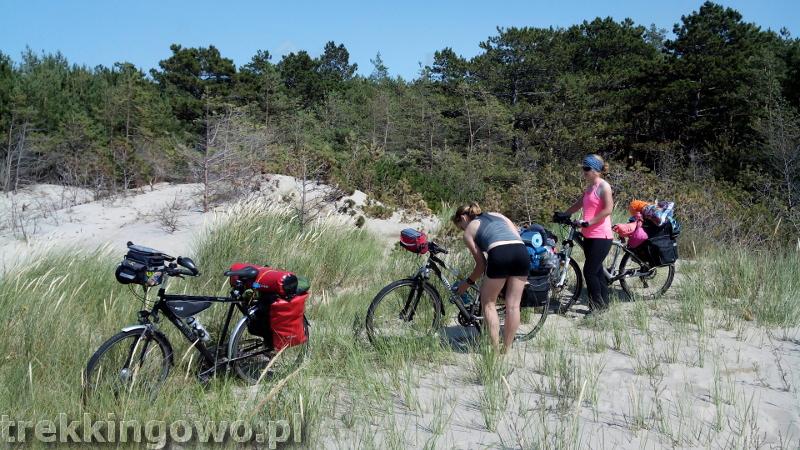 Szlak Latarni Morskich Darłowo Ustronie Morskie Dz. 5 plaża trekkingowo