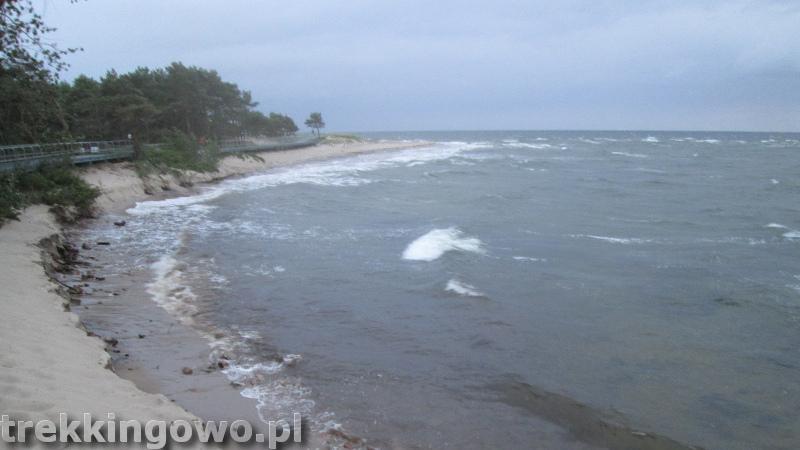 szlak latarni morskich hel sztorm