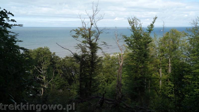 rozewie widok morze trekkingowo