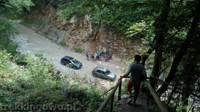 Rumunia, czy nadal dzika w dół jaskinia Meziad trekkingowo
