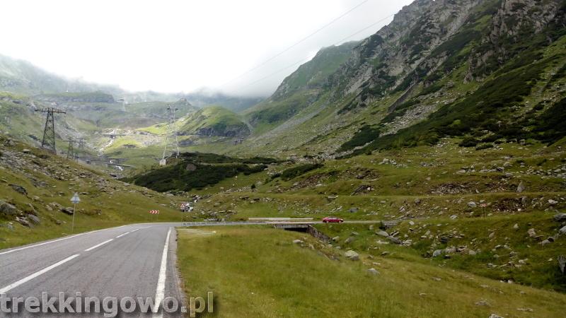 Rumunia, czy nadal dzika wyżej mech transfogaraska trekkingowo
