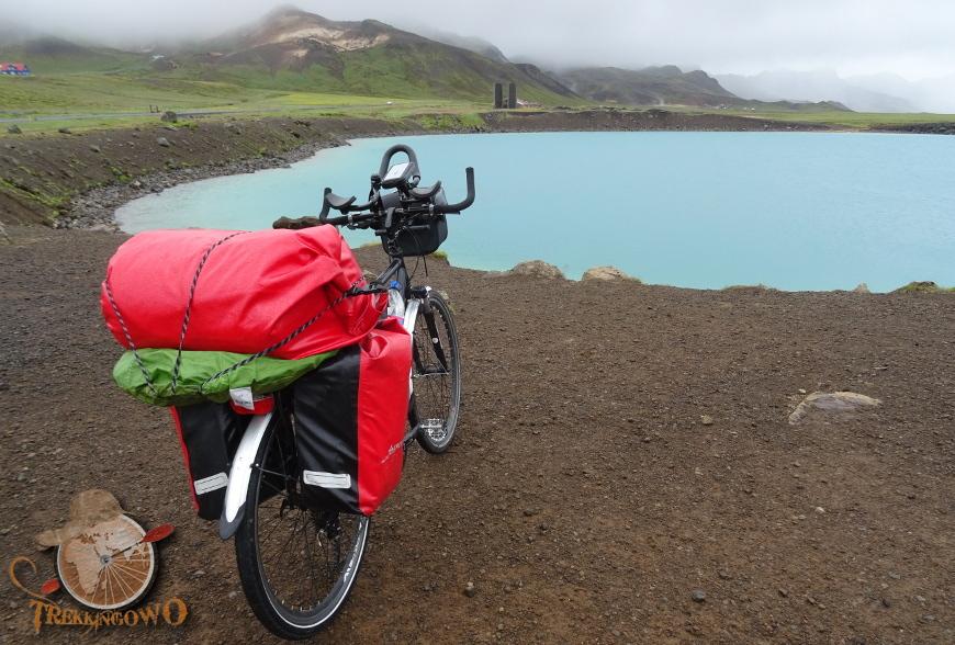 bagażnik Islandia trekkingowo
