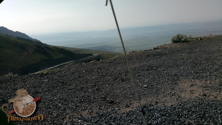 jurta kirgistan spanie trekkingowo