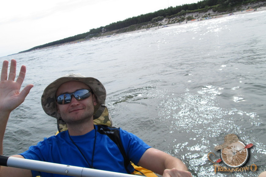pointer k2 kajak morski bałtyk trekkingowo