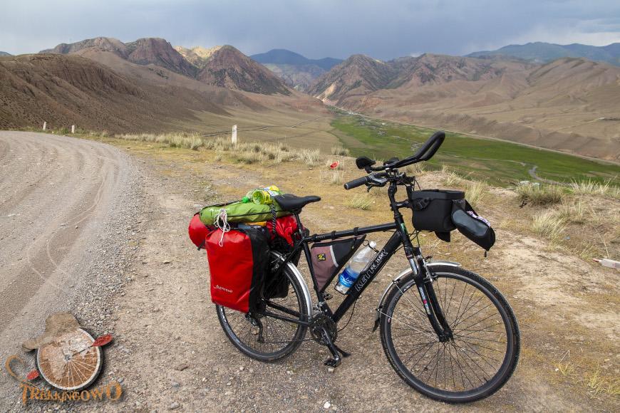 Kirgistan bagaż trekkingowo