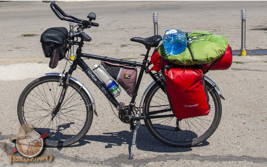 Kirgistan bagażnik trekkingowo