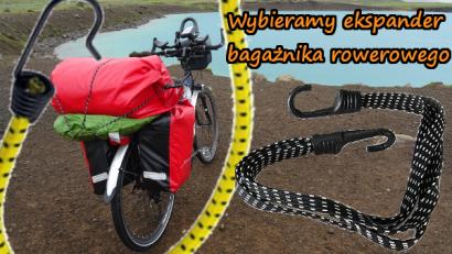 ekspander bagażnika rowerowego trekkingowo