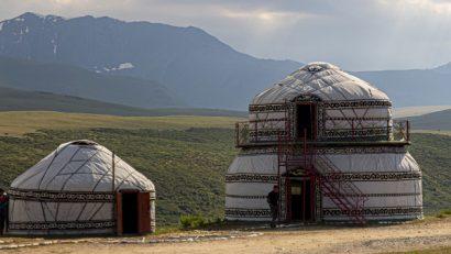 jurta kirgistan trekkingowo