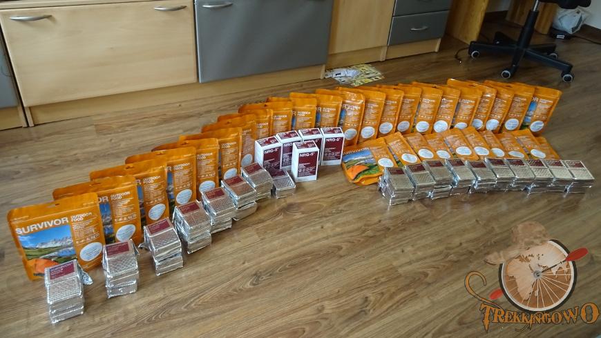 żywność liofilizowana w domu MSI Survivor trekkingowo