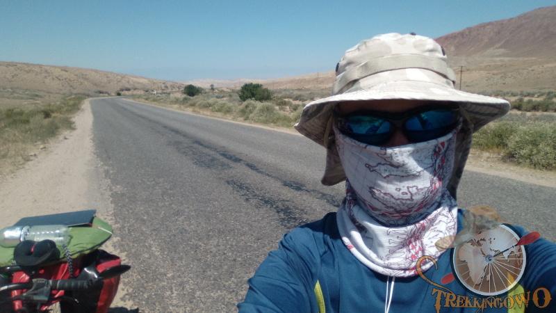 pustynia Isyk-Kul trekkingowo