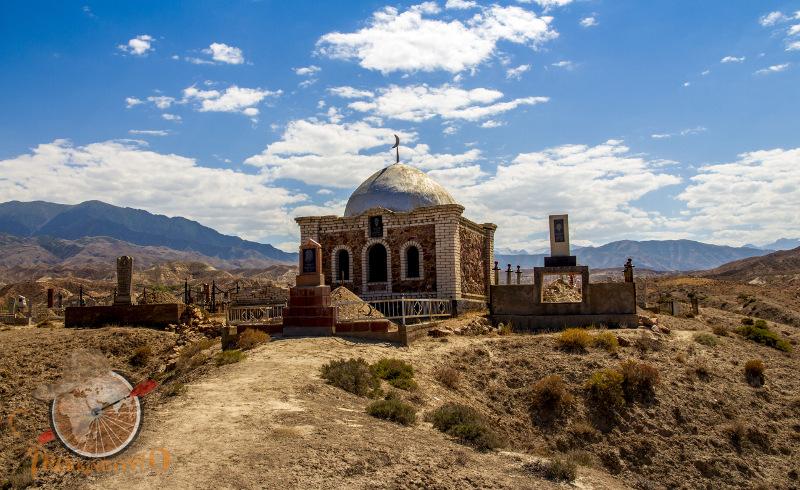 Isyk-Kul cmentarz meczet trekkingowo