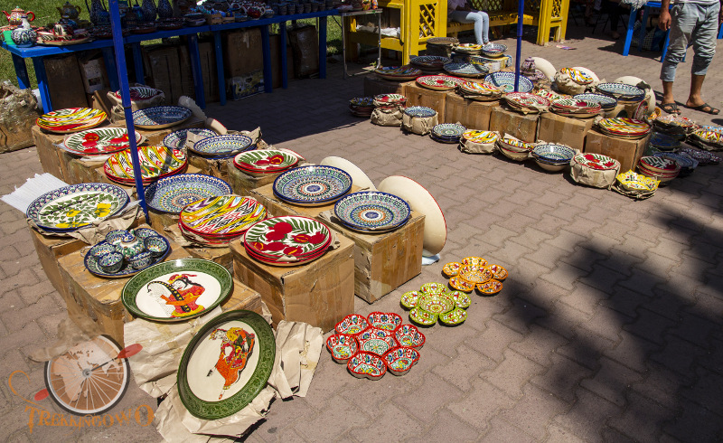 ceramika Kirgistan Isyk-kul trekkingowo.pl