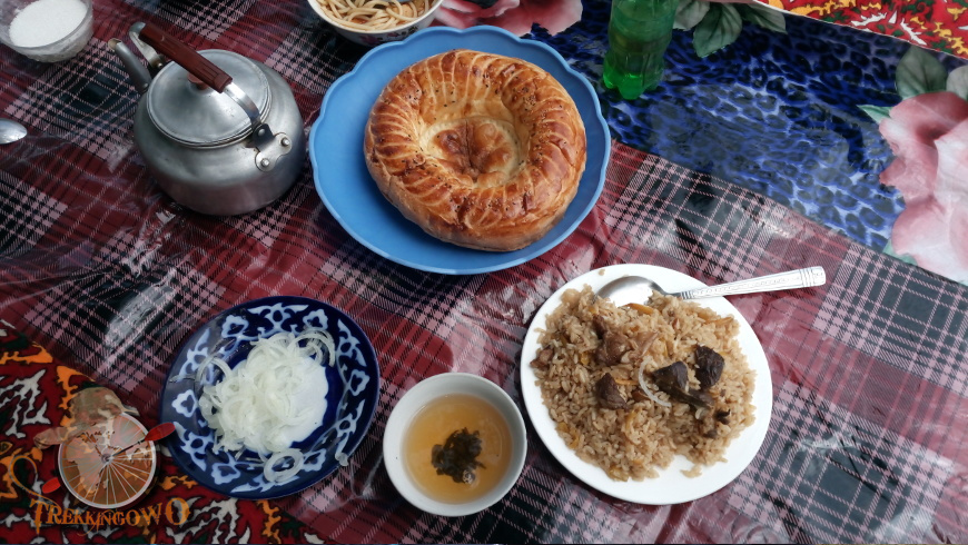 kirgistan kazarman trekkingowo pilaw Pustkowia Kazarmanu 07